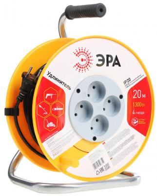 Удлинитель Эра RP-4-2x0.75-20m 20 м 1 розетка эра силовой удлинитель эра rp 4 2x0 75 20m 20м page 4