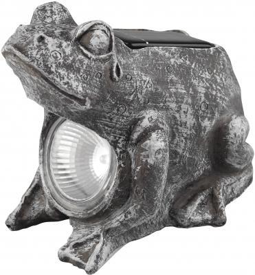 Садовый светильник ЭРА SA2 Лягушка серый