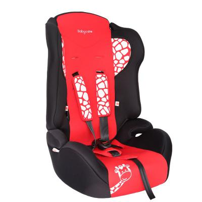 Автокресло Baby Care BC-513 Жирафик (красный)