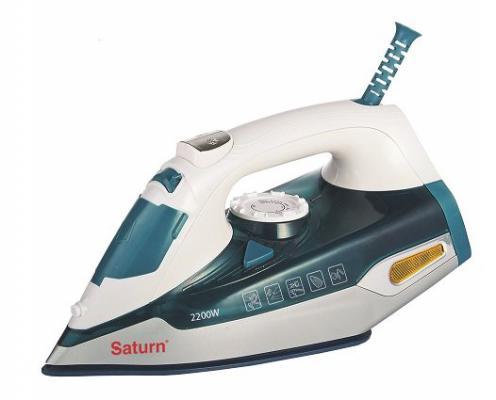 Утюг Saturn ST-CC 7114 2200Вт бело-синий