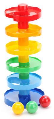 Купить Пирамида Биплант Зайкина горка №1 15001, пластик, Пирамидки для малышей