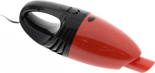 Автомобильный пылесос ZIPOWER PM 6706 сухая уборка чёрный красный