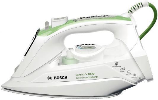 Утюг Bosch TDA 702421 E 2400Вт белый зелёный