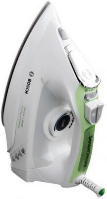 Утюг Bosch TDA 702421 E 2400Вт белый зелёный от 123.ru
