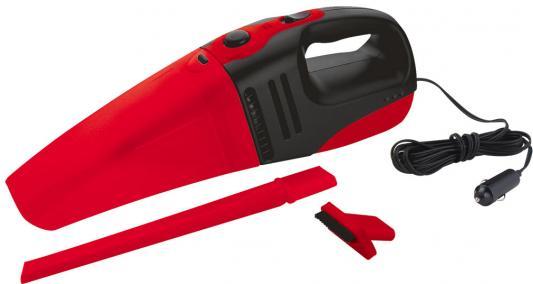 Автомобильный пылесос ZIPOWER PM 6705 сухая уборка черно-красный