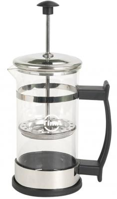 Френч-пресс Tima SH 350 прозрачный 0.35 л металл/стекло френч пресс tima бисквит pb 350 0 35 л металл стекло серебристый