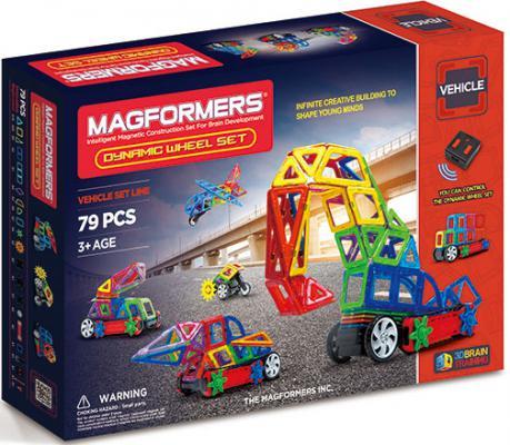Магнитный конструктор Magformers Dinamic Wheel Set 79 элементов 63116 magformers magformers магнитный конструктор funny wheel set 20