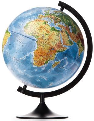 Глобус Земли физический 320 серия Классик Globen К013200015 глобус земли зоогегорафический детский 210 серия классик globen