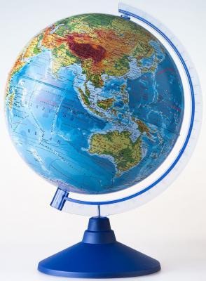 Глобус Земли физический 250 серия Евро Globen Ке012500186 globen глобус земли globen физический с подсветкой 210мм