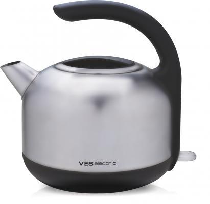 Купить Чайник VES Electric H-100-SS 2200 Вт серебристый 1.7 л металл