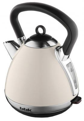 Чайник BBK EK1710S 2400 Вт серый бежевый 1.7 л металл