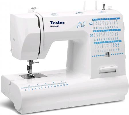 Швейная машина Tesler SM-6640 мультиварка tesler 500 челябинск