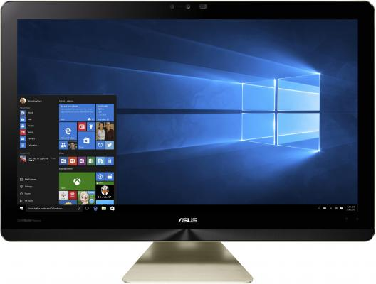 "Моноблок 23"" ASUS Z240ICGK-GC081X 1920 x 1080 Intel Core i7-6700T 8Gb 1Tb + 128 SSD nVidia GeForce GTX 960M 2048 Мб Windows 10 золотистый 90PT01E1-M03850"