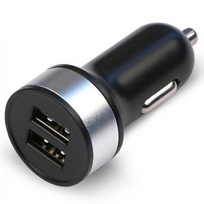 Автомобильное зарядное устройство Jet.A UC-S16 2х USB 2.1A черный автомобильное зарядное устройство jet a uc s16 2х usb 2 1a белый