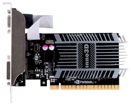 Видеокарта 1024Mb Inno3D GeForce GT710 PCI-E DVI HDMI VGA HDCP N710-1SDV-D3BX Retail