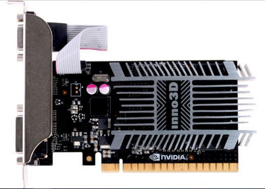 Видеокарта 2048Mb Inno3D GeForce GT710 PCI-E 64bit SDDR3 DVI HDMI VGA HDCP N710-1SDV-E3BX Retail