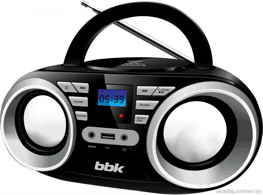 Магнитола BBK BX160BT черно-серебристый цена и фото