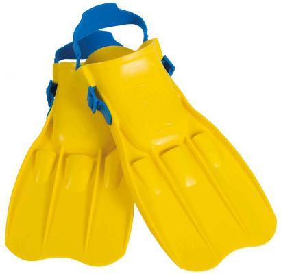 Купить Ласты для плавания Юниор 8-11 лет Intex 55932 (желтый)