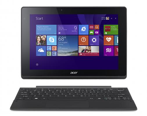 "Планшет Acer Aspire Switch 10 SW3-016-130G 10.1"" 64Gb серебристый Wi-Fi Bluetooth Windows NT.G8VER.002"