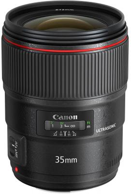 Объектив Canon EF 35 1.4L II USM 9523B005 объектив canon ef 24mm f 2 8 is usm черный