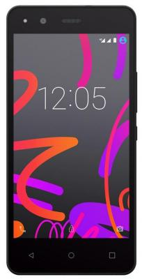 Чехол BQ для BQ Aquaris M5 черный E000595 bq bq aquaris m5 black white