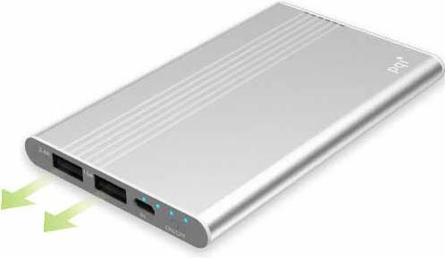 Портативное зарядное устройство PQI i-Power 5000V 5000 mAh серебристый 6PPQ-06JR0002A
