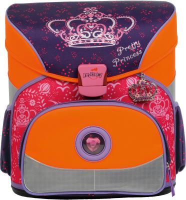 Ранец с наполнением DerDieDas Корона принцессы 18 л оранжевый 000402-000