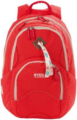 Рюкзак с анатомической спинкой 4YOU Flow Коралл 26 л 141000-236 цена