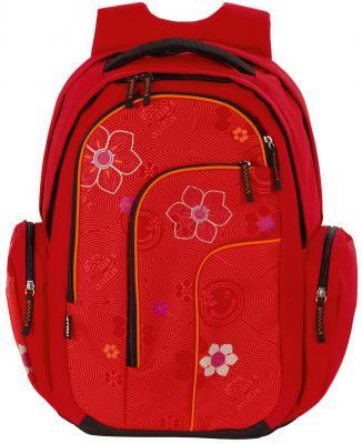 Рюкзак с отделением для ноутбука 4YOU move Красный цветок 28 л красный 141900-409