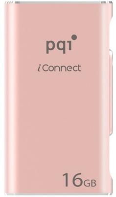 Флешка USB 16Gb PQI iConnect розовый 6I01-016GR4001