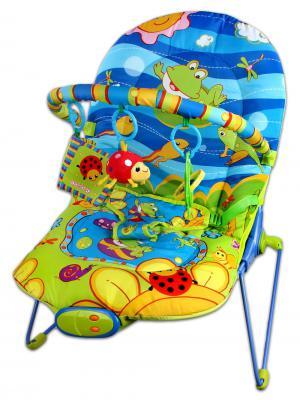 Кресло-качалка Жирафики Веселый лягушонок разноцветный с рождения 93694
