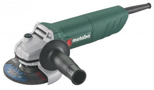 Углошлифовальная машина Metabo W 850-125 125 мм 850 Вт углошлифовальная машина metabo w12 125