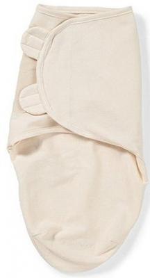 Конверт для пеленания на липучке размер S/M Summer Infant Swaddleme Organic (кремовый/54080)