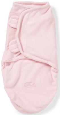 Конверт для пеленания размер S/M Summer Infant SwaddleMe Micro Fleece (розовый)