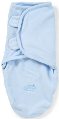Конверт для пеленания размер S/M Summer Infant SwaddleMe Micro Fleece (голубой)
