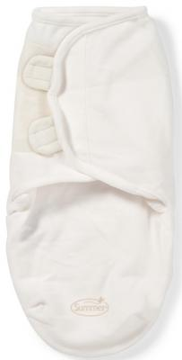 Конверт для пеленания размер S/M Summer Infant SwaddleMe Micro Fleece (кремовый)