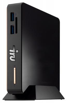 Неттоп iRu IRU 115 Intel Celeron-3205U 4Gb 500Gb Intel HD Graphics DOS черный 361803