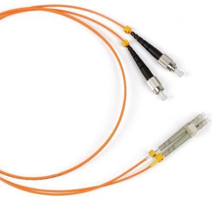 Патч-корд Hyperline FC-9-FC-LC-APC-2M волоконно-оптический шнур 2м цена и фото