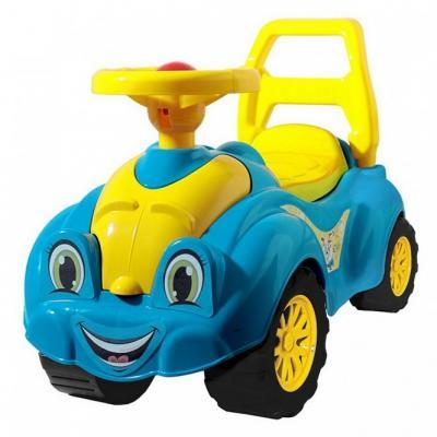 Каталка-машинка Rich Toys Zoo Animal Planet Заяц синий от 10 месяцев пластик Т3510