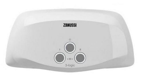 Водонагреватель проточный Zanussi 3-logic 3.5 S душ 3.5 кВт