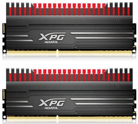 Оперативная память 8Gb (2x4Gb) PC3-17000 2133MHz DDR3 DIMM A-Data CL10 AX3U2133W4G10-DBV-RG