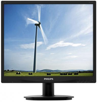 Монитор 19 Philips 19S4QAB/00/01 монитор жк philips bdm3470up 00 01 34 черный