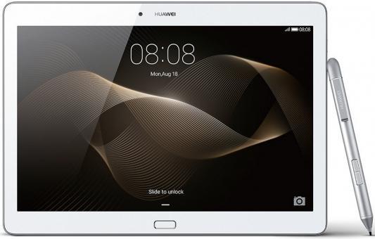 Планшет Huawei MediaPad M2 10.1 16Gb серебристый белый LTE Wi-Fi 3G Bluetooth Android M2-A01L 53015922 планшет huawei mediapad m2 8 0 16gb lte