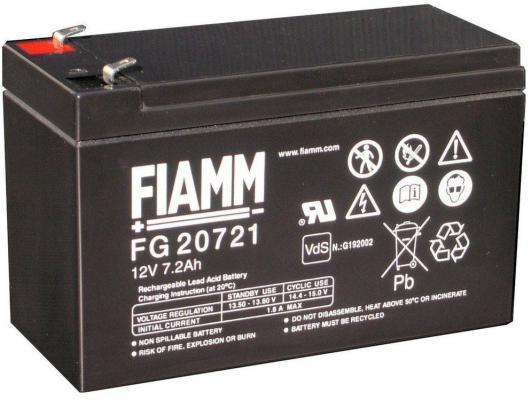 Батарея FIAMM FG20721 7.2Ач 12B