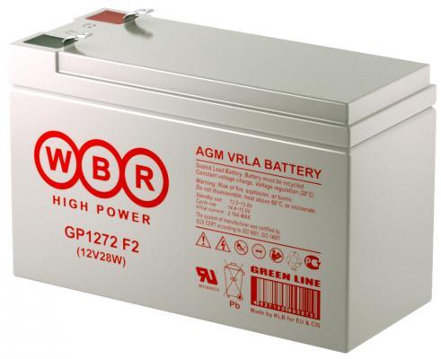 цена на Батарея WBR GP1272 F2 12V/7AH