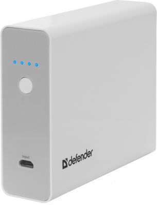 Портативное зарядное устройство Defender ExtraLife Multi 5V/0.5A-2.1A 5xUSB 13000 mAh белый 83612