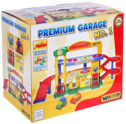 Купить Паркинг Гараж №1 ПРЕМИУМ с автомобилями 40398, Wader, Гаражи, парковки, треки