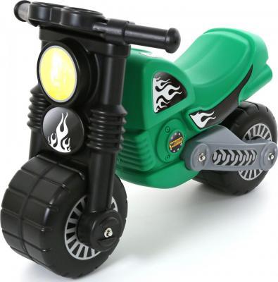 Каталка-мотоцикл Wader Моторбайк зеленый от 18 месяцев пластик 40480