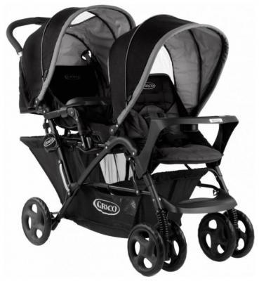 Прогулочная коляска для двоих детей Graco Stadium Duo (темно-пепельный люкс/1855707)