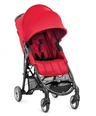 Прогулочная коляска Baby Jogger City Mini Zip (красная) baby jogger коляска baby jogger city mini zip бампер black черный
